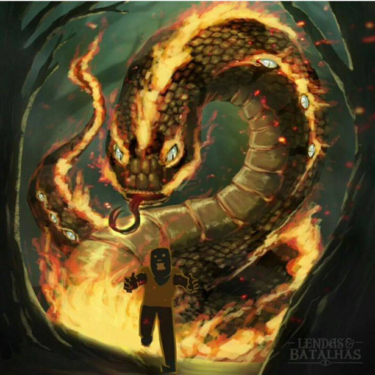 Огненный змей: славянская мифология и мистика реальности
