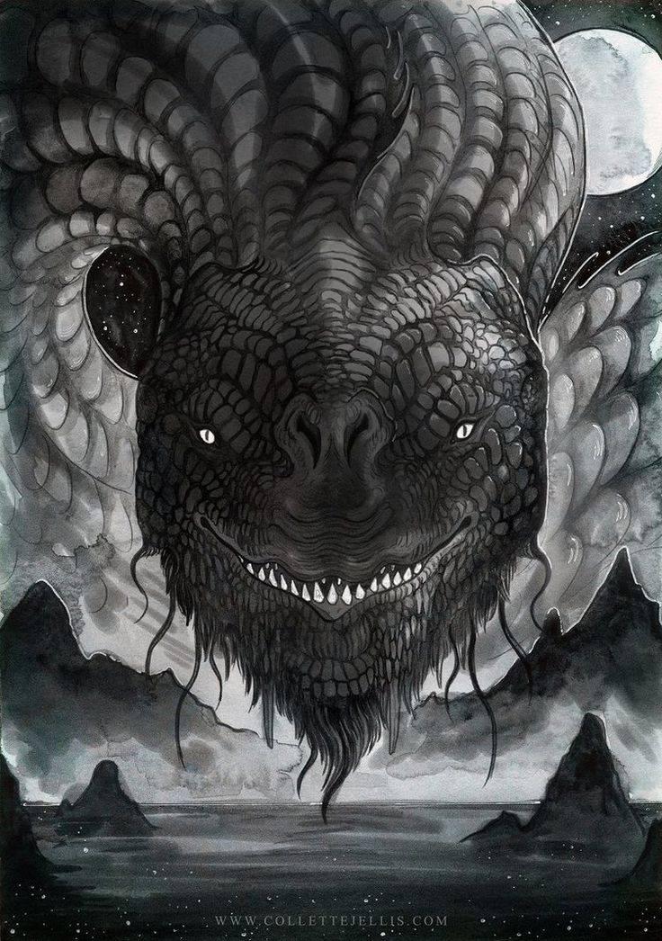 Ёрмунганд | мифические существа скандинавской мифологии
