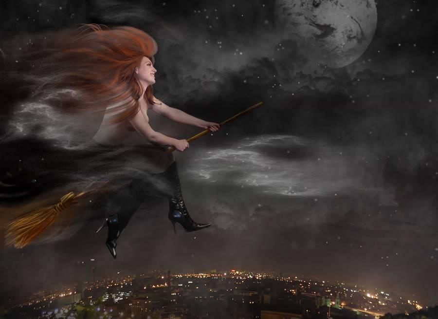 К чему снится ведьма на метле: толкование сна | сонник журнал