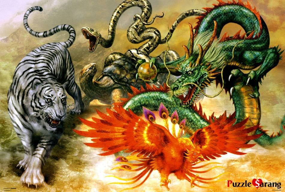 Сила амулета с драконом