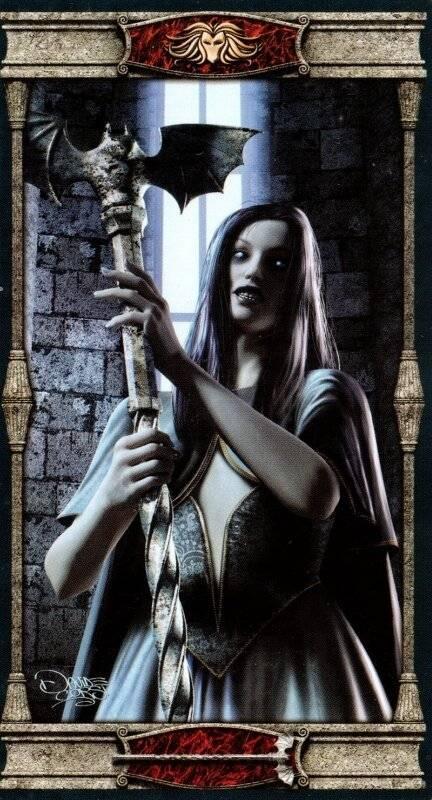 Готическое таро вампиров колода