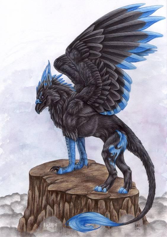 Гиппогриф: фантастическое летающее существо