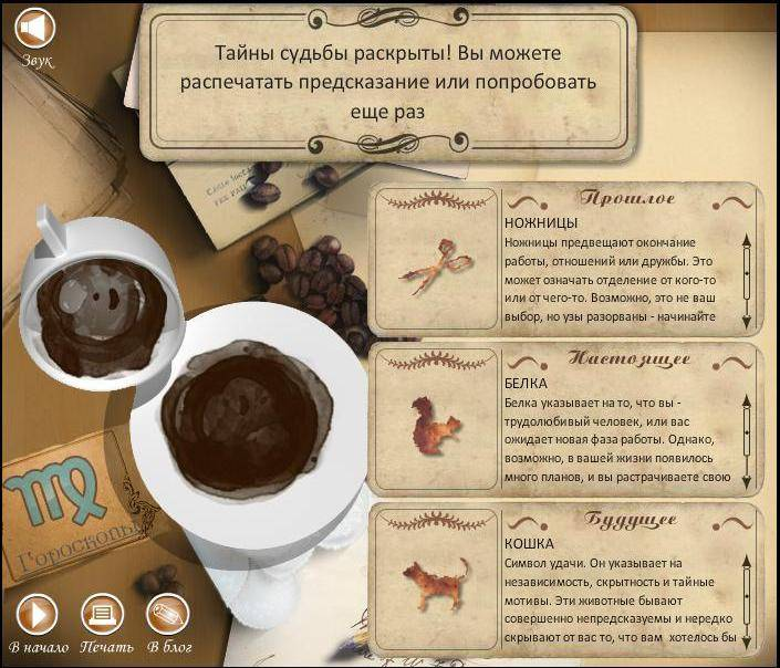 Как правильно гадать на кофейной гуще