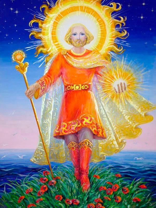 Даждьбог в славянской мифологии — ведические пророчества воплощения даждьбога