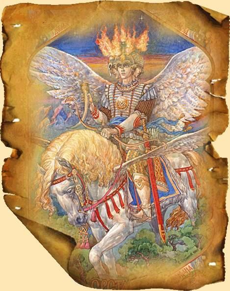 Бог света - даждьбог - прародитель славян, их защитник и помощник