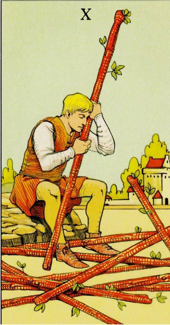 Жезлы таро (посохи, скипетры, палицы): значение карт, толкование в раскладах