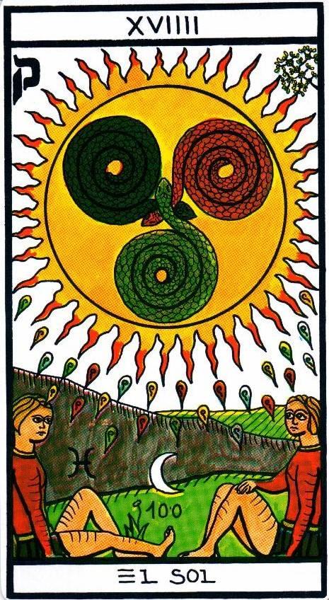 Значение аркана таро солнце в гаданиях на чувства, отношения, работу и здоровье: совет карты дня