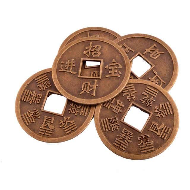 Китайские монеты фен шуй - значение, где должны лежать в доме