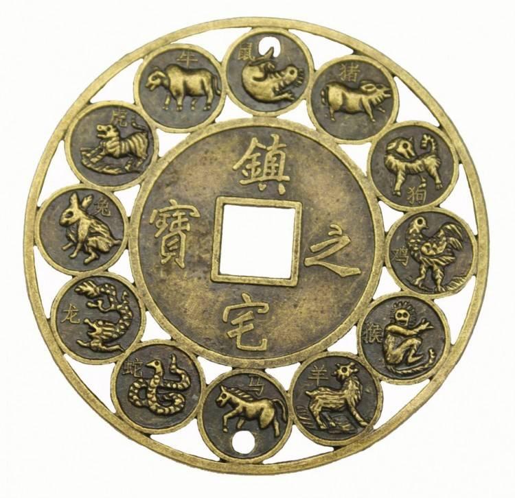 Значение китайской монеты с квадратным отверстием