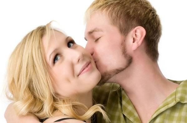 Поцелуй в щеку от бывшей
