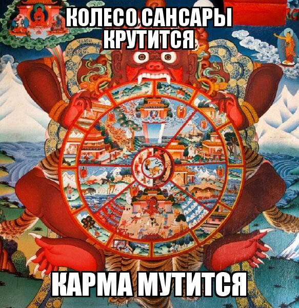 Значения колеса сансары и пути выхода из него