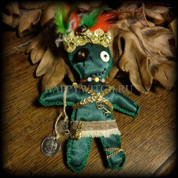 Кукла вуду: обряды, ритуалы, заговоры и заклинания с куклой вуду