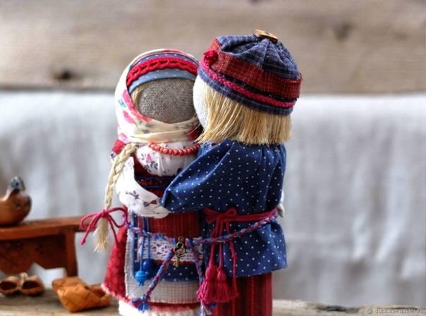 Славянская народная кукла столбушка берегиня. оберег
