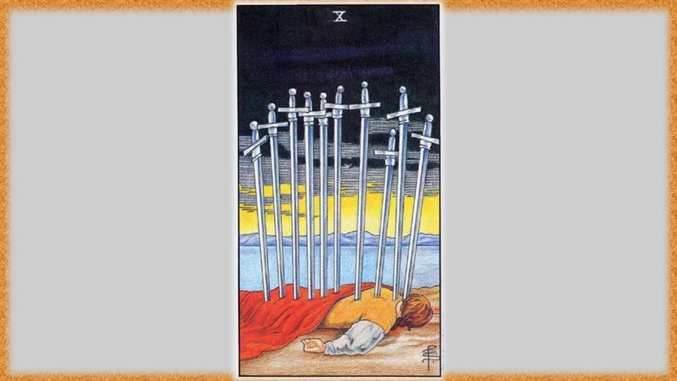 Деcятка мечей таро: значение в отношениях, дружбе, карьере   знаки зодиака