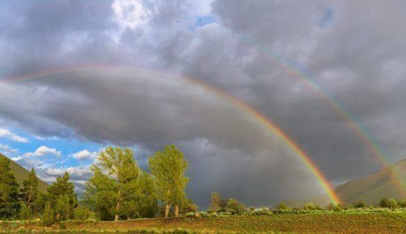 Что означает увидеть радугу, какая это примета
