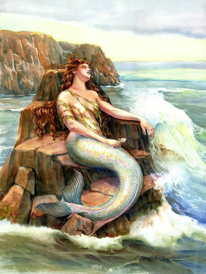 Амфитрита - жена посейдона, богиня морей и мать тритона