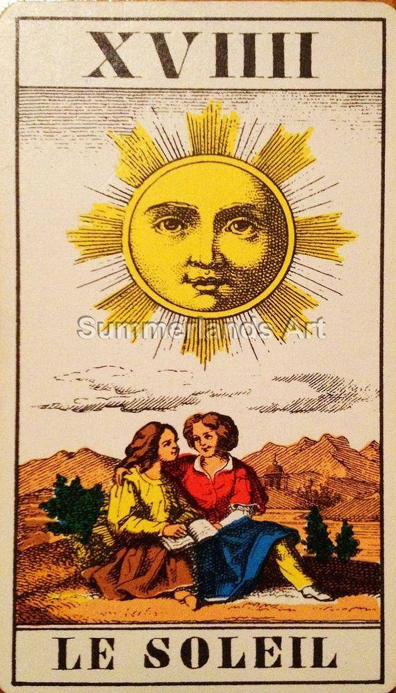 Солнце: значение и описание карты таро | знаки зодиака