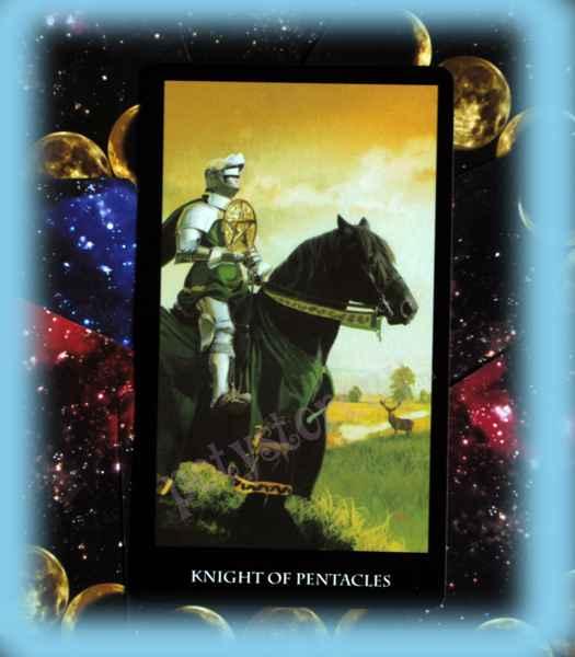 Рыцарь пентаклей в таро: значение и сочетание карты