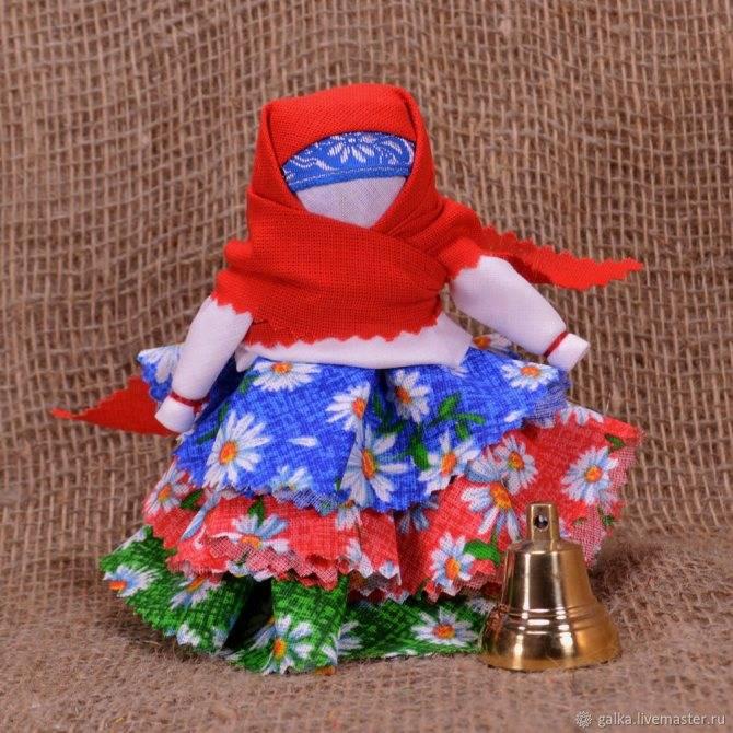 Конспект нод «куклы на руси. изготовление народной тряпичной куклы-колокольчика». воспитателям детских садов, школьным учителям и педагогам - маам.ру