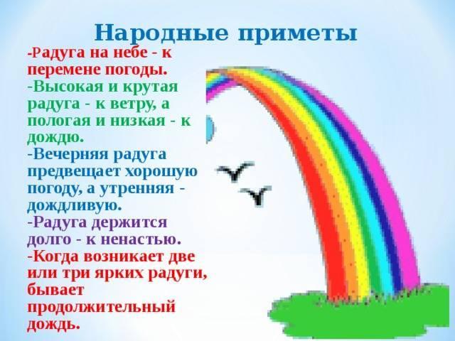 Радуга зимой — к чему эта примета? | zdavnews.ru