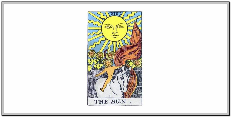 Солнце - значение карты таро