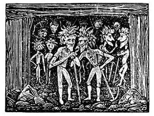 Шахтёрская мифология — горная энециклопедия