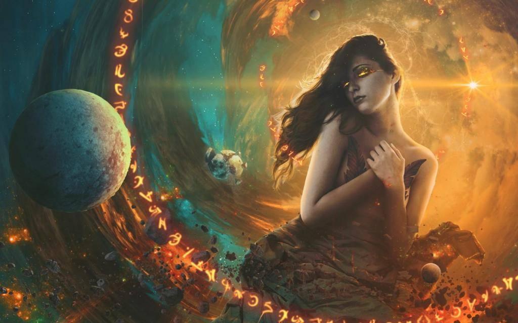 Венера в тельце у женщины