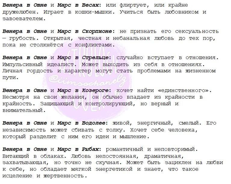 12 моментов женственности. венера в знаках зодиака | блогер luka на сайте spletnik.ru 5 апреля 2019