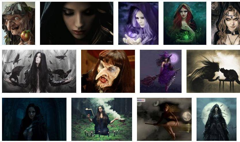 Ведьма с косой