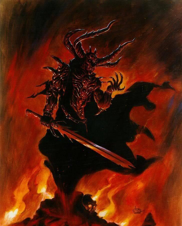 Аббадон - одно из сильнейших существ ада