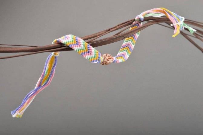 Схемы плетения фенечек из ниток: инструкция с фото