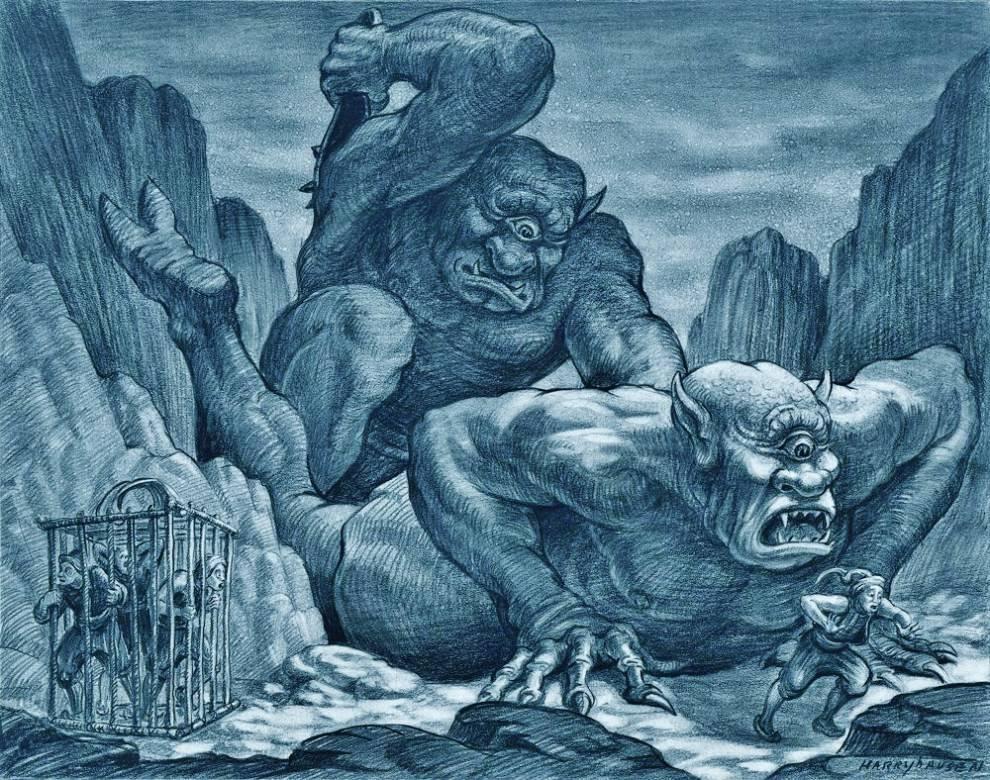 Список одноглазых существ в мифологии и художественной литературе - list of one-eyed creatures in mythology and fiction - xcv.wiki