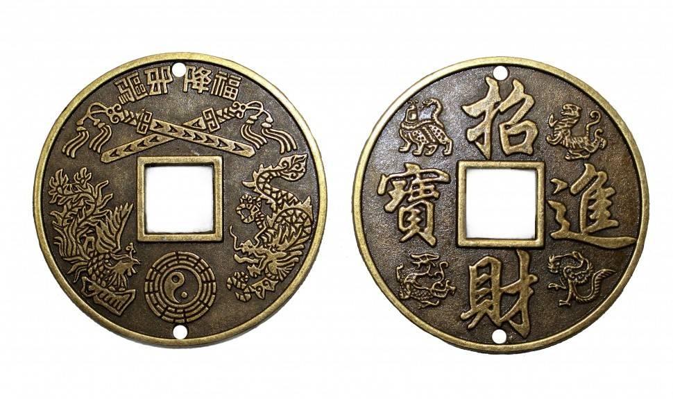 Монеты фен-шуй — значение и применение