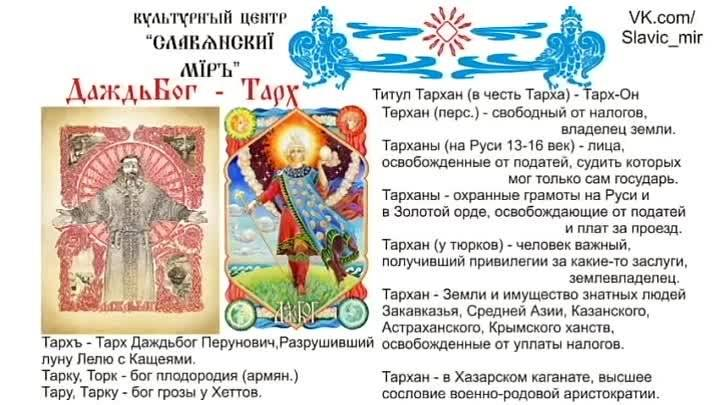 Духовное наследие славян и ариев