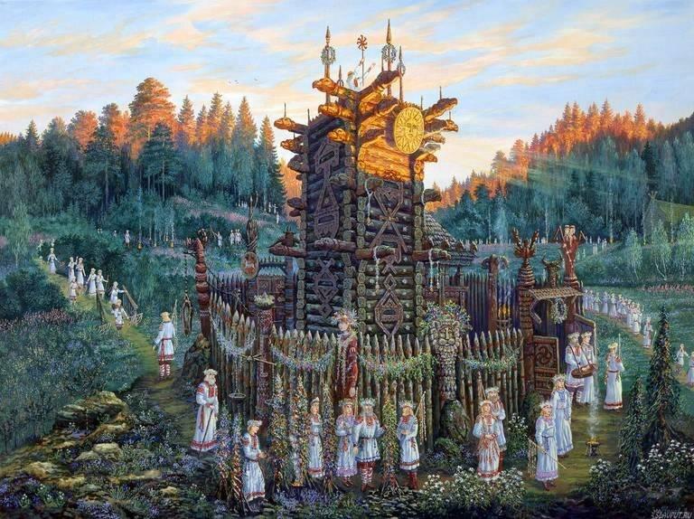 Славяно-арийские веды - истории земли