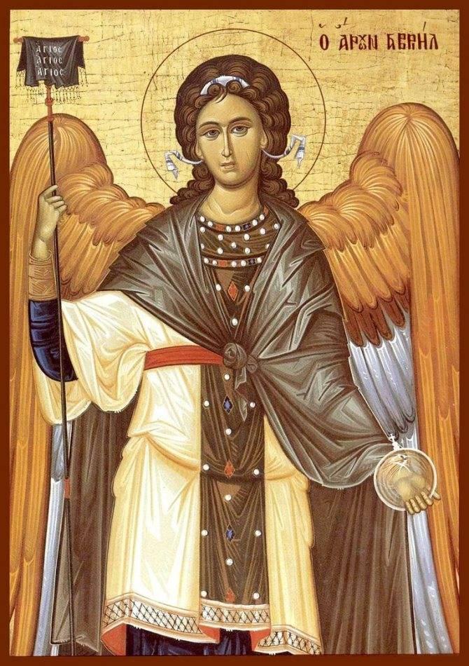 Архангел гавриил: наиболее почитаемые иконы святого, молитвы и в чем помогает