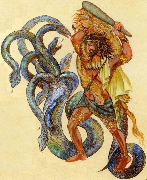 Эриманфский кабан и битва с кентаврами (пятый подвиг геракла) (кун) — читать онлайн