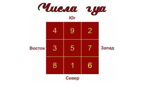 Персональное число гуа и формула восьми домов