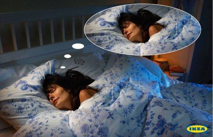 Кровать без постели