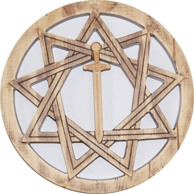 Звезда инглии: значение, история и разновидности символа