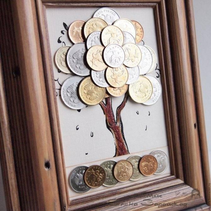 Как изготовить панно «денежное дерево»?