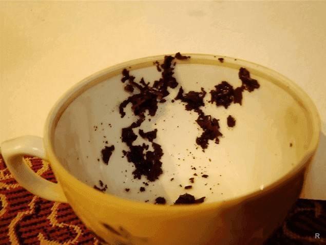 Толкование символов при гадании на чае
