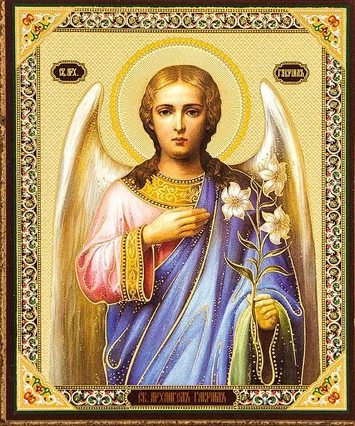 Наиболее почитаемые иконы архангела гавриила, молитвы и в чем помогает святой