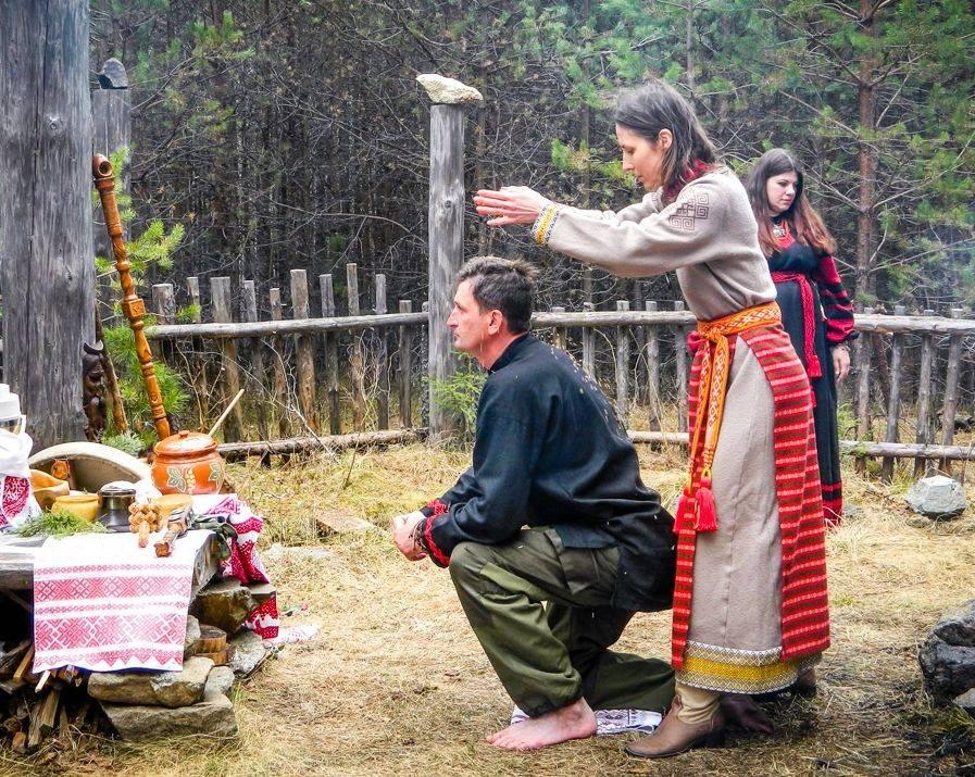 Языческие обряды и ритуалы древних славян