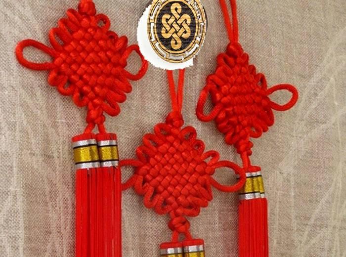 Китайский узел для привлечения счастья, удачи, долголетия, любви, успеха и других благ