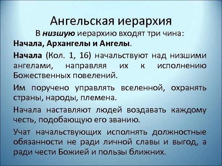 Сколько архангелов в православии и их имена