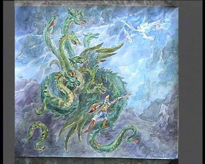 Змей горыныч представитель злого начала в русских народных сказках