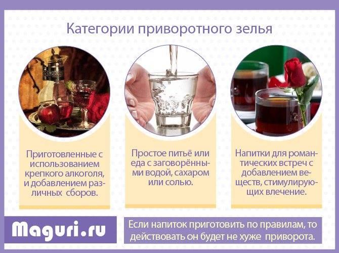 Рецепты сильных приворотов