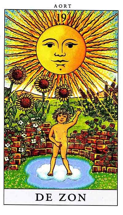 Старший аркан солнце – значение карты таро