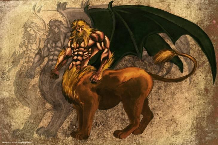 Сыновья посейдона - древнегреческого бога морей